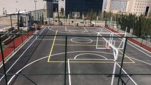 Ankara Şehir Hastanesi basketbol sahası