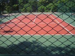 tenis kortu uygulamaları