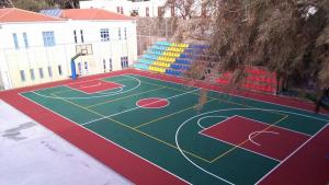 basketbol sahası