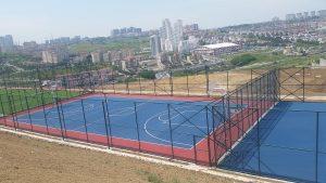 Başakşehir Belediyesi Park içi basketbol sahası