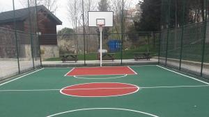 Beykoz belediyesi park içi basketbol sahası