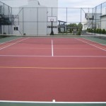 tenis kortu ve basketbol saha uygulaması
