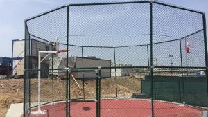 Dairesel basketbol sahası