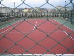 tenis kortu uygulaması
