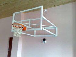 Duvara monteli yükseklik ayarlı basketbol potası