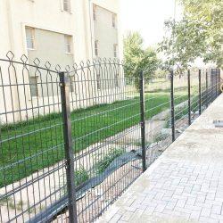 dekoratif panel çit uygulaması