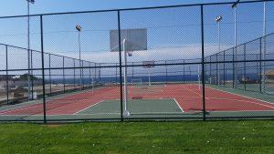 Kıbrıs Merit Otel basketbol sahası