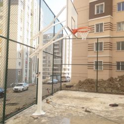 Tek direk yükseklik ayarlı basketbol potası