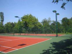 NG Sapanca Oteli Tenis kortu aydınlatması