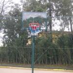 tek direk cam panya basketbol potası
