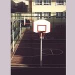 tek direk fiber Amerikan panya basketbol potası 90x120cm