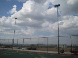 spor saha aydınlatması