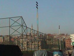futbol saha aydınlatması