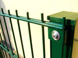double panel çit uygulaması
