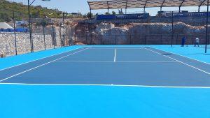 Tenis Kortu Bodrum Çalışması