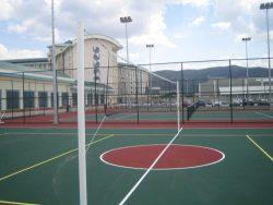 basketbol ve voleybol sahası